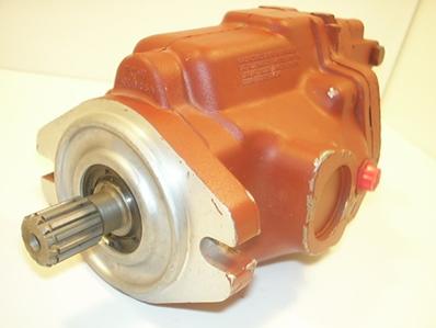 hydraulic pump red